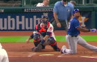Adrian Beltre hit a home run on 1 knee, again